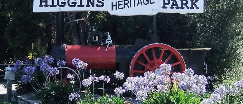 Higgins Heritage Park Steam-Up Day