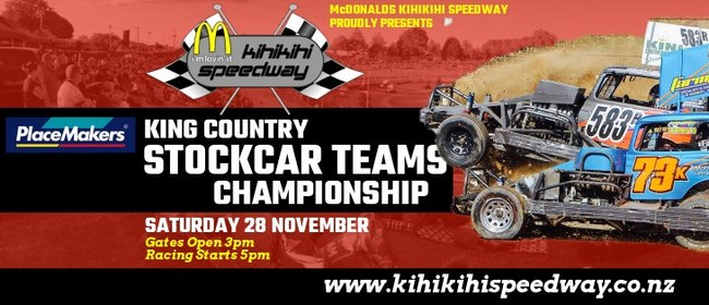 PlaceMakers King Country Stockcar Teams Champs