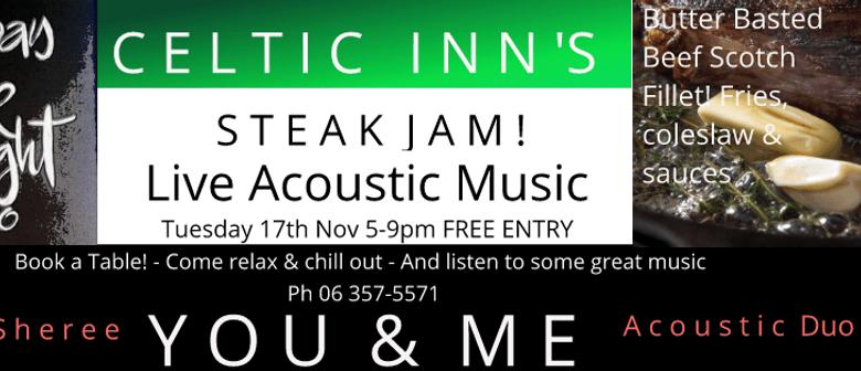 Steak Night Jam ft You & Me