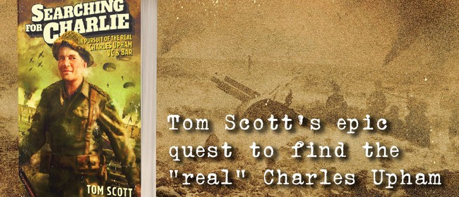An Evening with author Tom Scott- Searching for Charlie VC