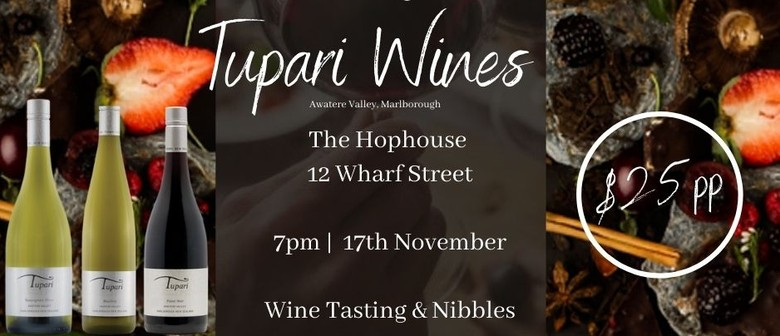 An Evening with Tupari Wines