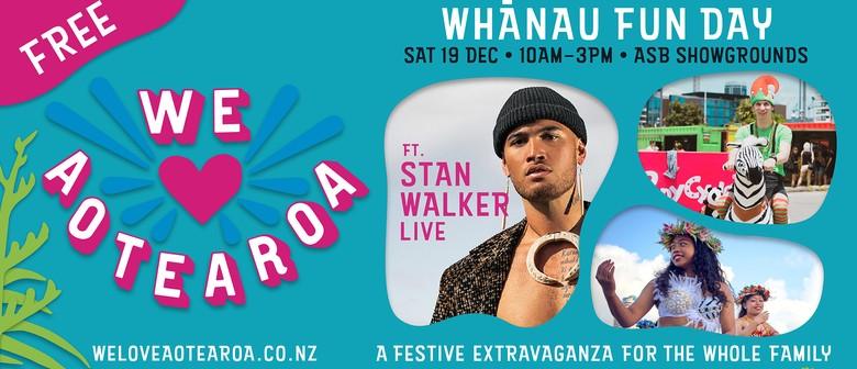 We Love Aotearoa - Whānau Fun Day