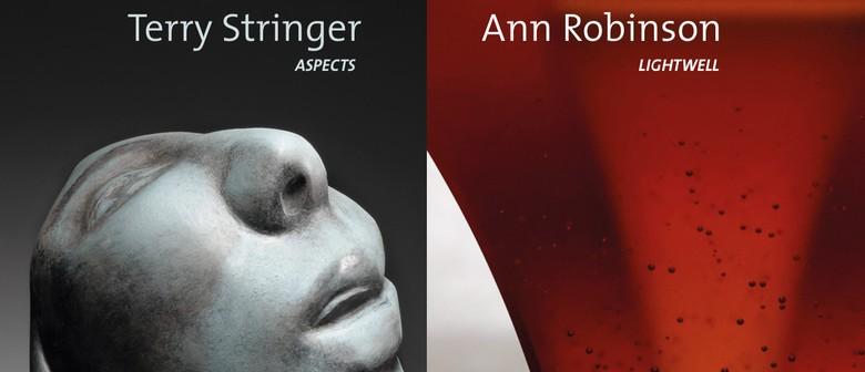 "Ann Robinson ""Lightwell"" & Terry Stringer ""Aspects"""