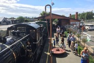 Steam Train Operating