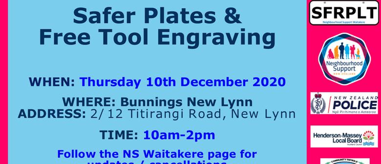 Safer Plates & Tool Engraving - Bunnings New Lynn