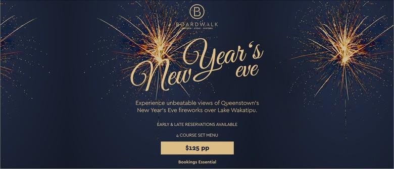 New Year's Eve Dining Boardwalk Queenstown