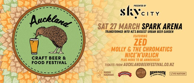 Auckland Craft Beer & Food Festival, presented by SkyCity