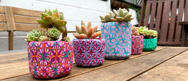 Clay Succulent Pot Workshop- Hosted By Dripped With Honey