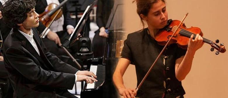 Jun Bouterey-Ishido and Matilde Loureiro in concert