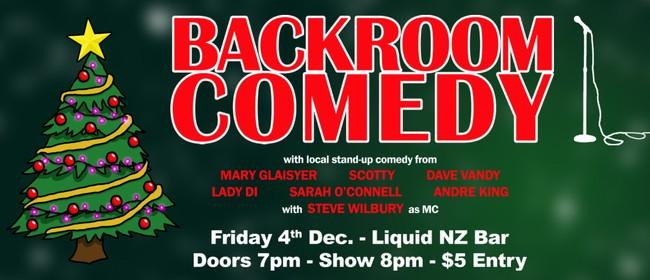 Backroom Comedy Xmas