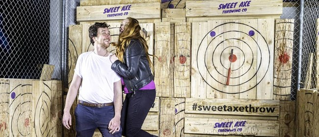 Singles Axe Throwing Mixer!