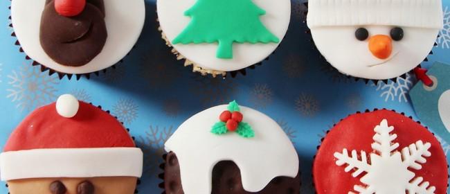 School Holiday Xmas Cupcake Decorating Class