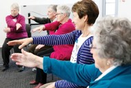 Steady as You Go exercise class for seniors