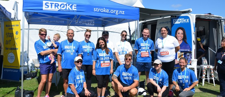 Stroke Foundation at Auckland Round the Bays 2021