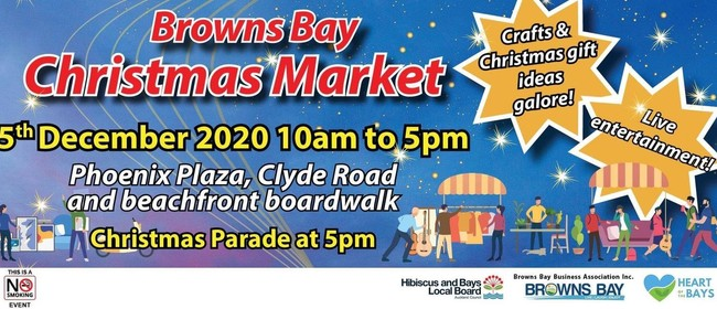 Browns Bay Christmas Parade & Market!