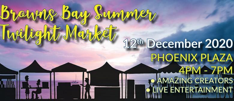 Browns Bay Summer Twilight Market