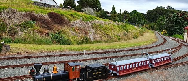 Miniature Train Running Day