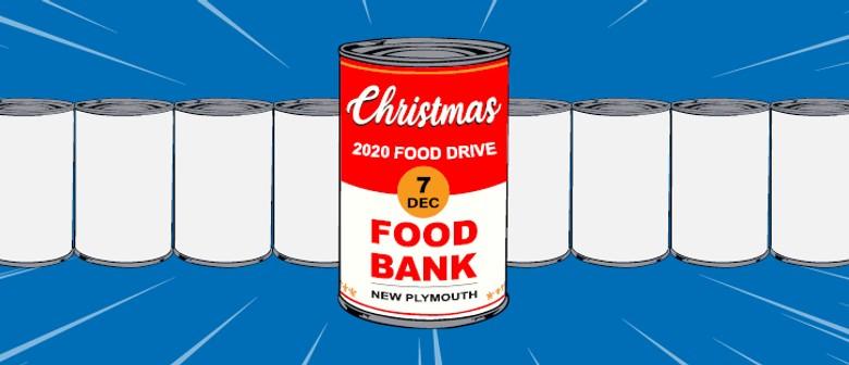 New Plymouth Community Foodbank Christmas Food Drive