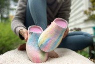 Craft  A Pair of Felted Slippers