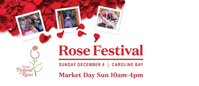 Market Day - Festival of the Roses