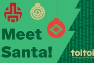 Meet Santa at Toitoi