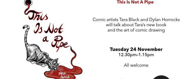 Author talk: Tara Black with Dylan Horrocks