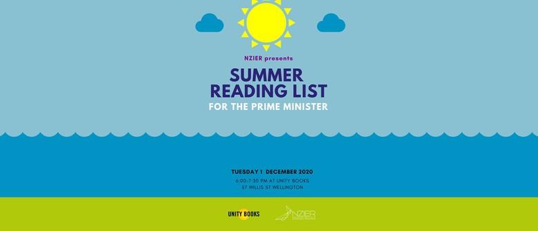 NZIER - Summer Reading List for the Prime Minister