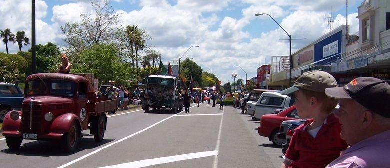 Pahiatua Christmas Parade & Rotary Market