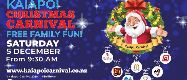 Kaiapoi Christmas Carnival and Santa Parade