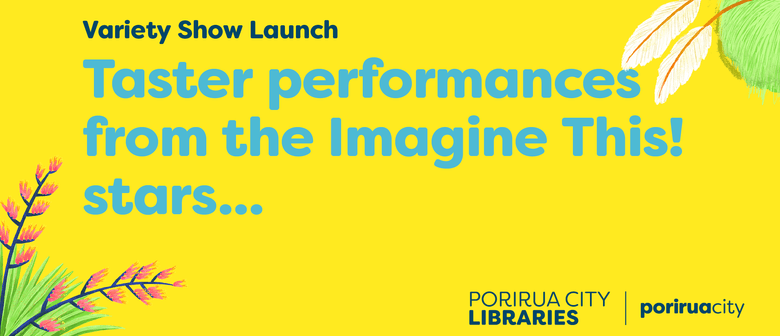 Imagine This - Variety Show Launch and Book Shopping