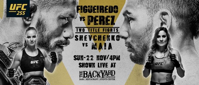 UFC 255 - Figueiredo v Perez