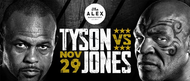 Mike Tyson Vs Roy Jones Jr at The Alex
