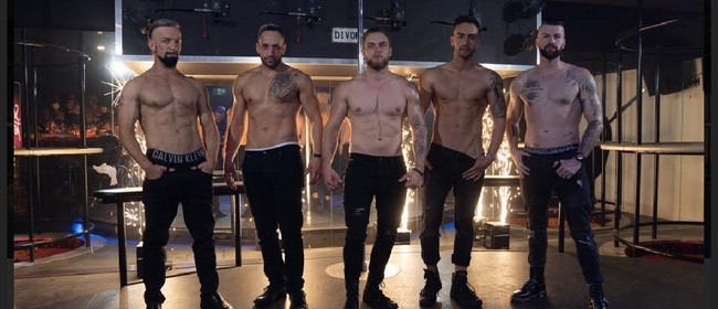 Male Strippers Xmas Show
