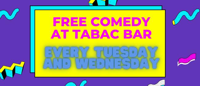 Live Comedy at Tabac Bar
