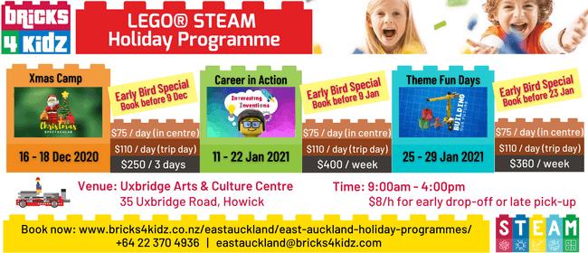 Bricks 4 Kidz® East Auckland LEGO Themed Holiday Programme