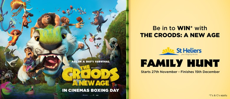 The Croods: A New Age Family Hunt