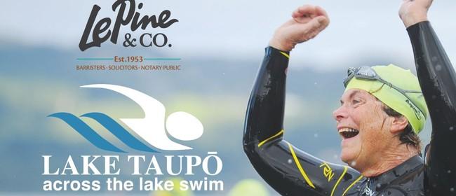 Le Pine & Co Lake Taupo Across the Lake Swim