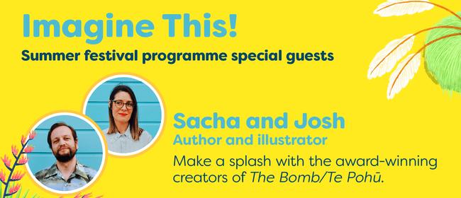 Imagine This - Festival Finale, Sacha Cotter and Josh Morgan