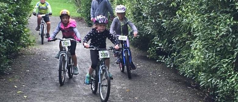 Kids Chocolate Fish Bike Race