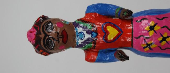 Frida Kahlo - Papier Mache Doll Making