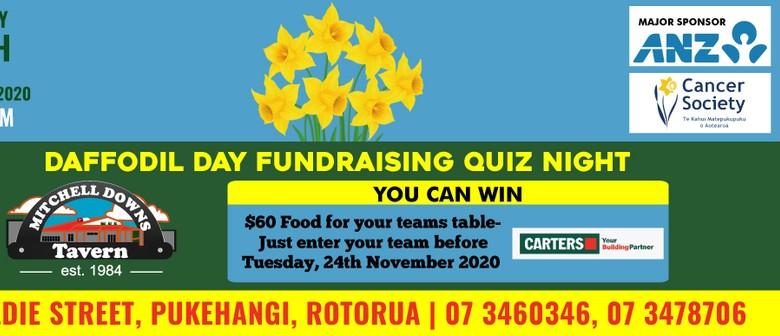 Rotorua Cancer Society - Daffodil Day Fundraising Quiz Night