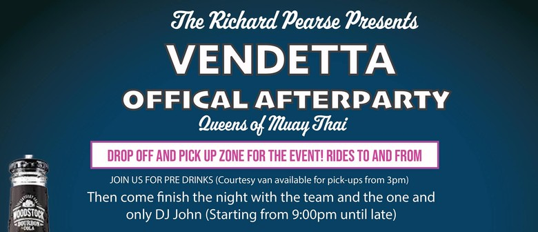 Vendetta Official Afterparty
