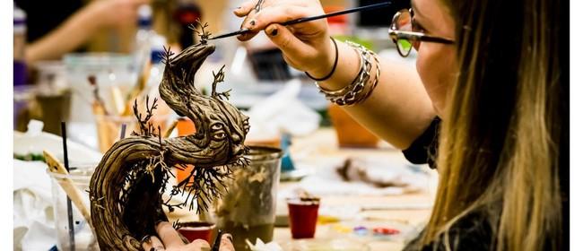 Toi Whakaari Sculpting A Creature Marquette: POSTPONED