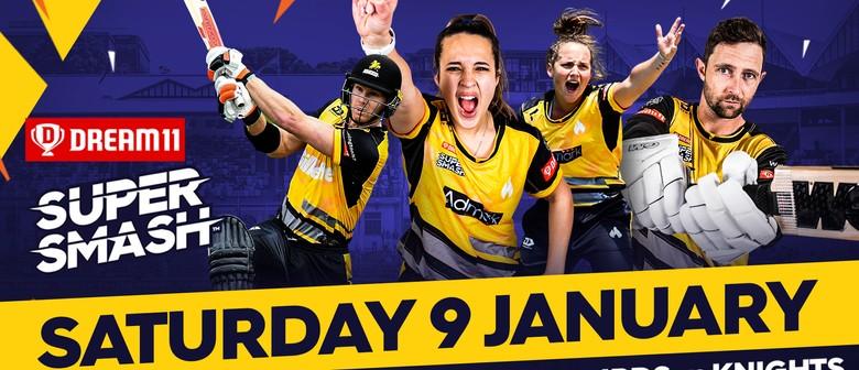 Super Smash Double-Header - Wellington v Northern Districts
