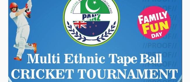 Multi Ethnic Tape Ball Cricket Tournament