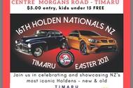 16th Holden Nationals NZ Timaru - Car Show