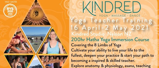 Kindred Level 1 Yoga Teacher Training