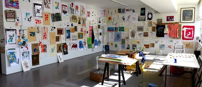 Simon Cumming Print workshop
