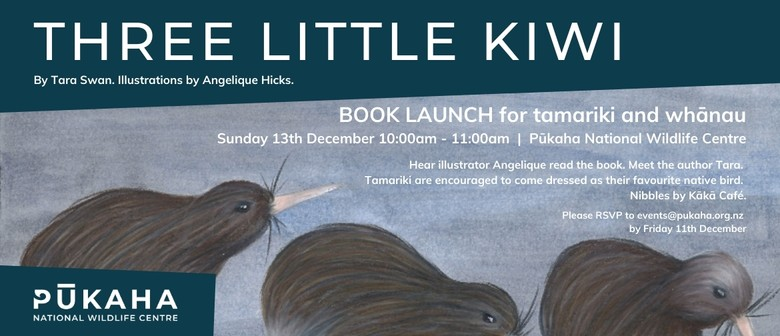 Three Little Kiwi - Book Launch