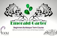 Emerald Garter - Beginners Burlesque Term Course 2